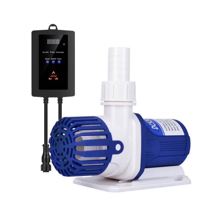 Aquarium Pump Blue-White