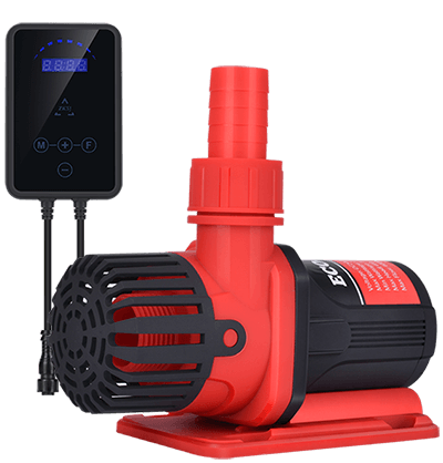 Aquarium-Pump-png-red-black