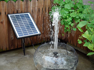 Solar Powered Fountains