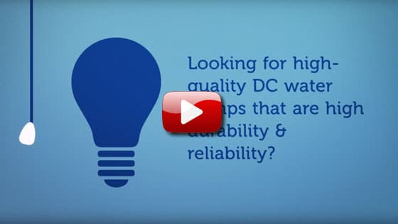 Looking for high quality DC water pumps video