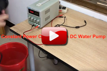 High flow water pump popup