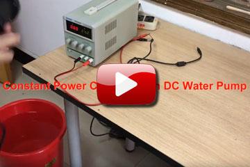 High flow water pump popup